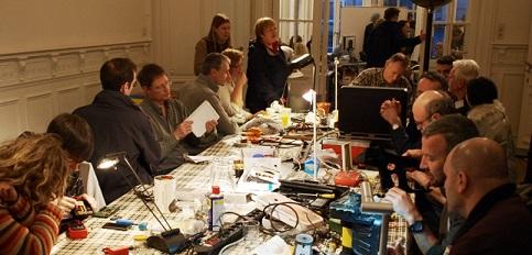 "L'atelier del ""Repair Café"" di Amsterdam"