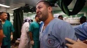 """""""Il momento in cui vedi i dottori piangere ogni limite è stato superato"""" Dr. Abuwarda"""