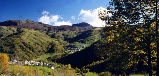 la Val d'Aveto in Liguria