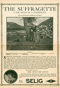 The Suffragette è un cortometraggio muto del 1913 scritto e diretto da Marshall Stedman.