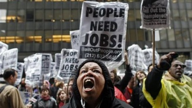 Unemployment-People-need-jobs-protest
