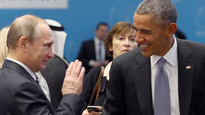 Vladimir Putin e Barack Obama al G20 di Antalya