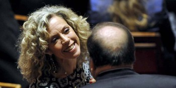 Monica Cirinnà, prima firmataria del disegno di legge sulle unioni civili (Fabio Cimaglia / LaPresse)
